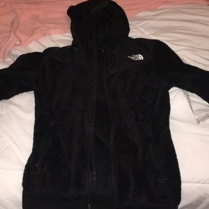 Women's north face zip up XS